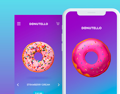 Donuts Shop App