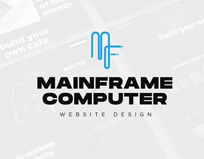 MainFrame Computer - Website UI