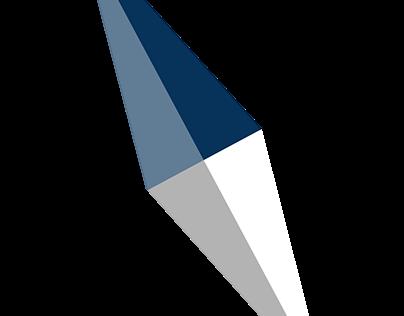 Simple Compass Logo