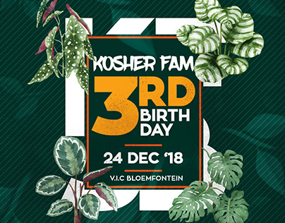 Kosher Fam 3rd Birthday Promo video