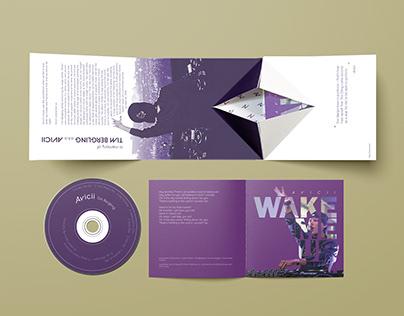 Wake Me Up - Avicii   CD Album Packaging