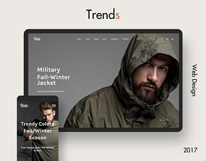 Trends - Trendy Online Shop Design
