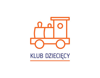 klub dziecięcy logo / projekt niekomercyjny