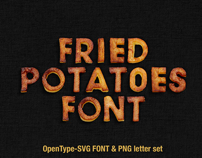Fried Potatoes Font