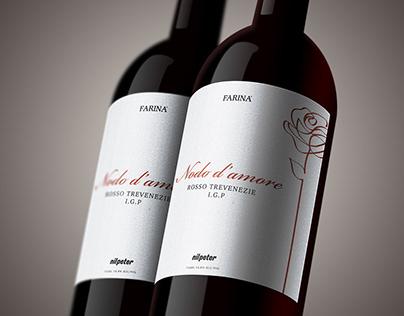 Wine label design | Nodo d'amore / Nilpeter