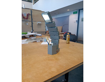 segmented lamp model
