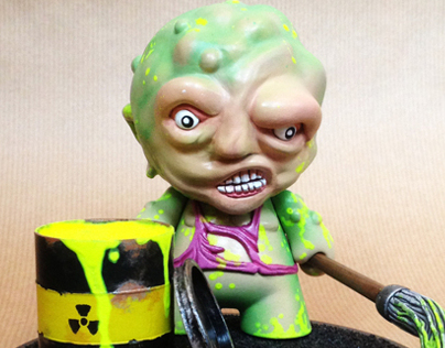 The Toxic Avenger | Custom Mini Munny