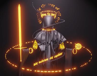 Neon wraiths