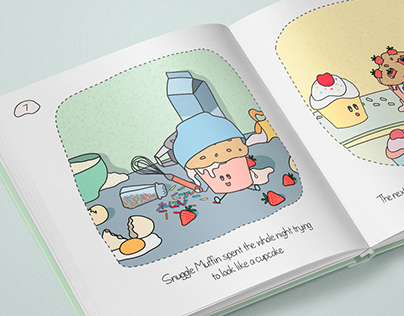 Snuggle Muffin - short story for kids