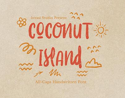 Coconut Island | Display Font