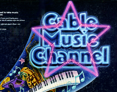 Magazine Illustration for Turner's Cable Music Channel