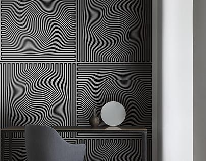 60's labyrinth pattern design - part II