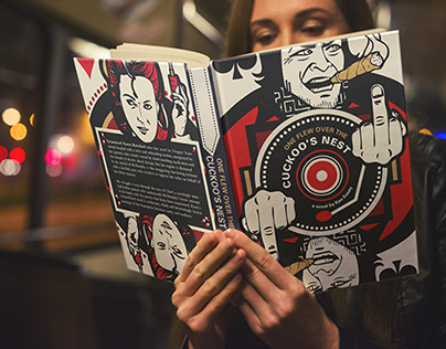 Famous Book Jackets Redesigned