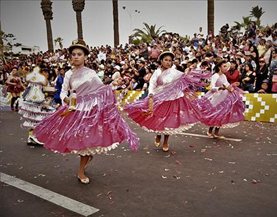 Arica Carnaval Andino 2020 (Morenadas)