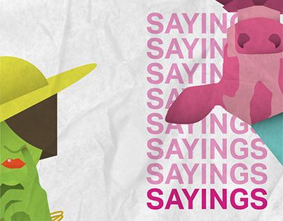 Arabic Sayings - Illustrations
