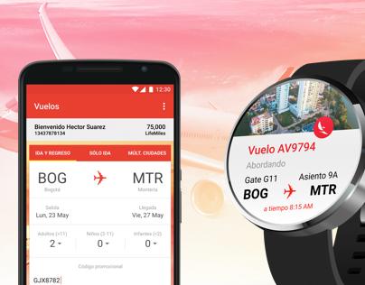 New Concept - Avianca app