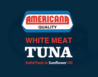 AMERICANA WHITE MEAT TUNA