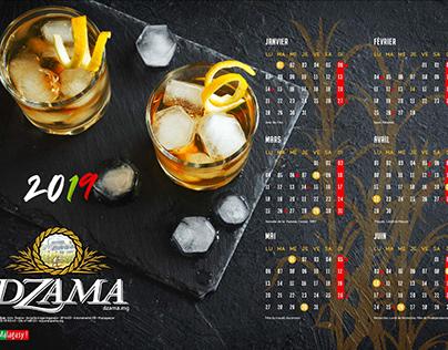calendriers rhums Dzama Madagascar 2019