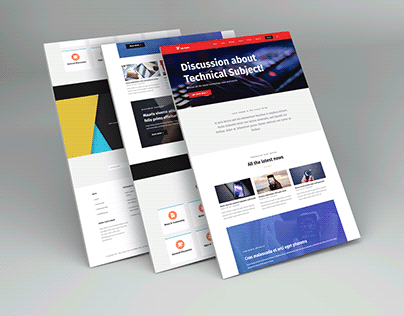 Tech Forum | Responsive Wordpress Website