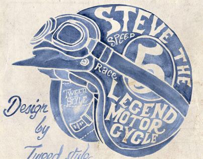 STEVE DESERT RACE 1963 by TWEED style
