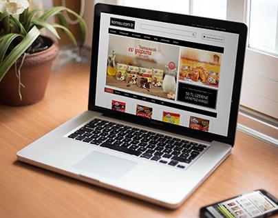 Komsu E Ticaret Web Site