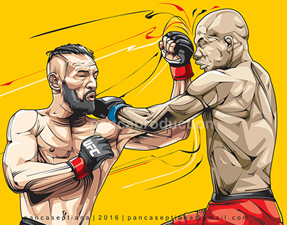 Conor McGregor Punch! | vectorArt