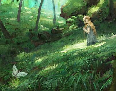 Dartmoor- digital paintings