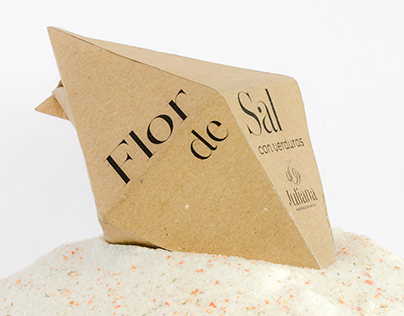 · Flor de Sal · packaging