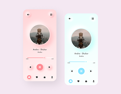 Playlist Theme UI / UX Design