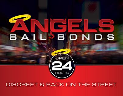 Angels Bail Bonds logo and web design
