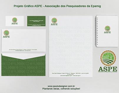 Projeto Grafico ASPE - Associação de Pesquisadores da
