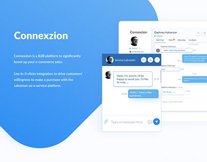 Connexzion - a B2B chat platform
