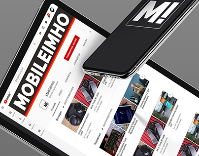 Design youtube channel Mobileimho
