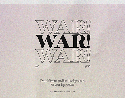WAR! Backgrounds
