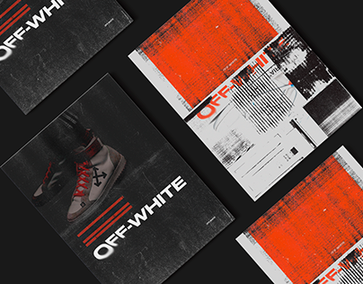 Editorial/Poster Collection inspired by Off-White