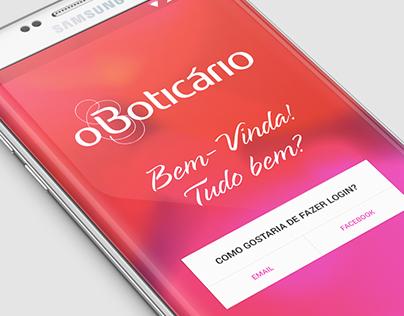 Boticário app