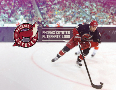 PHOENIX COYOTES ALTERNATE LOGO