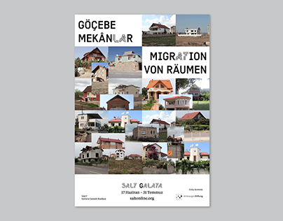 Göçebe Mekanlar | Migrating Spaces Exhibition