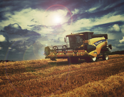 NEW HOLLAND agriculture II