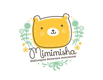 Baby's textile company branding