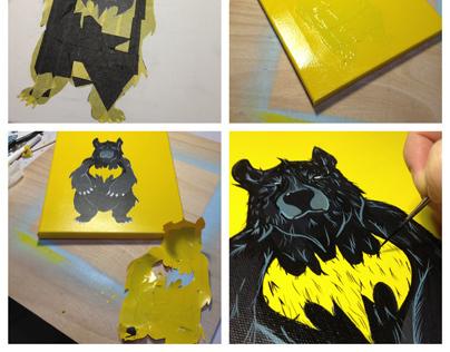 Comic Book Inspired Animals