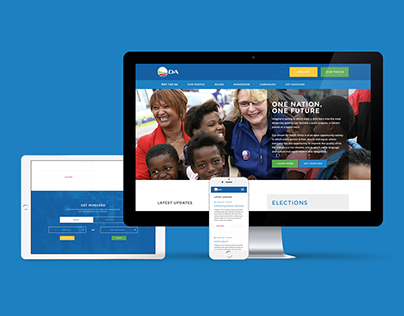 Democratic Alliance Website
