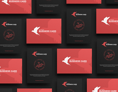 Free Brand Business Card Mockup
