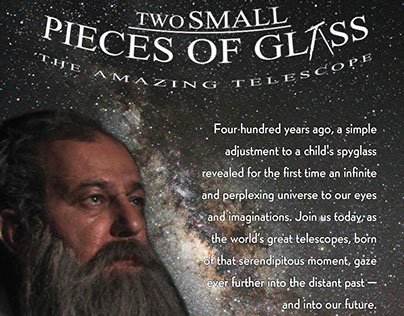 Two Small Pieces of Glass | Planetarium Poster