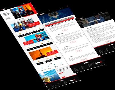 DMS web creation work for UAE company