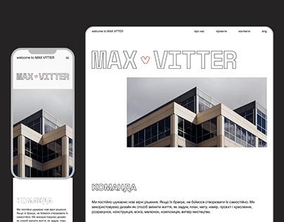 MAX VITTER - website