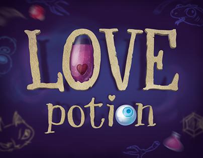 Love Potion. Match3 magic game