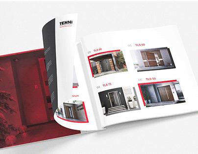 TEHNI Doors, catalogue