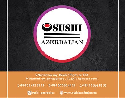 Sushi Azerbaijan Brochure