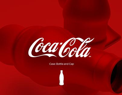 Coca Cola - Case Bottle and Cap